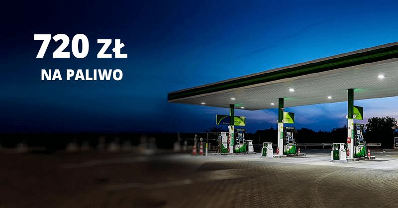 Citibank: 720 zł za paliwo na Motokarcie BP