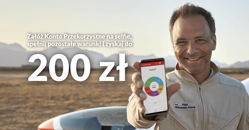 200 zł bez wychodzenia z domu za otwarcie Konta Przekorzystnego + 2,5% na koncie oszczędnościowym!