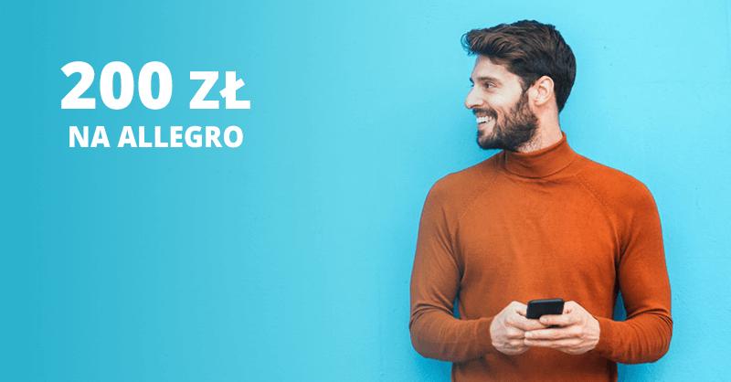 200 zł do wydania na Allegro za wyrobienie karty Citi Simplicity