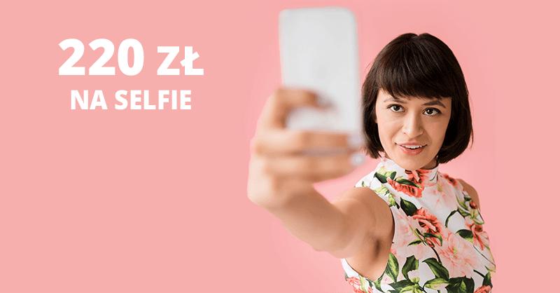 220 zł na selfie od Banku Millennium