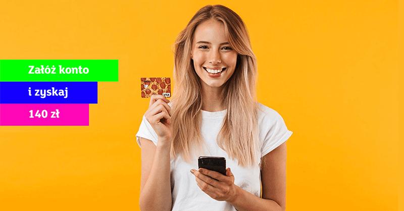 140 zł za eKonto dla młodych od mBanku
