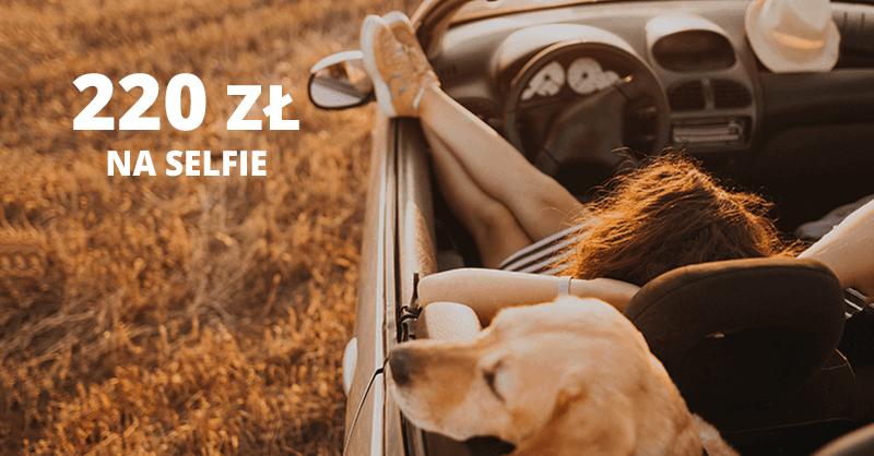 220 zł premii na selfie za Konto 360 w Banku Millennium
