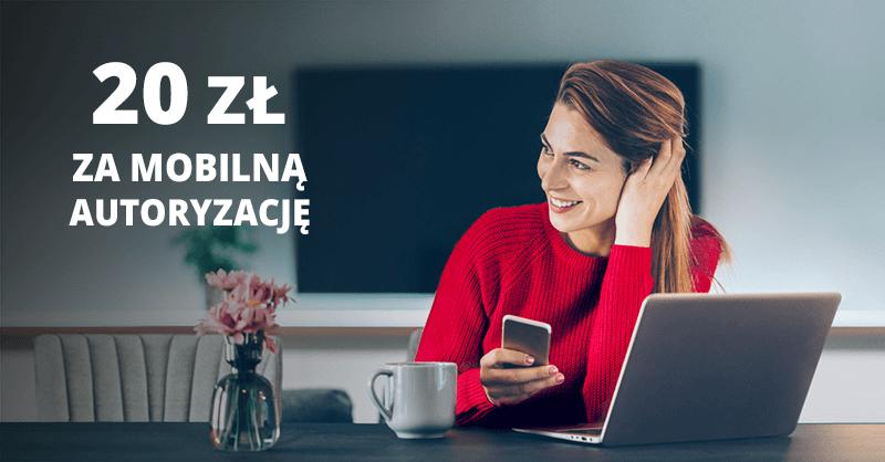 20 zł premii za mobilny podpis od Santander