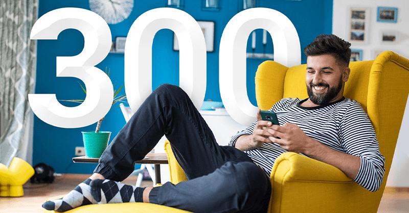 300 zł premii za Konto 360 i LokatęStrukturyzowaną