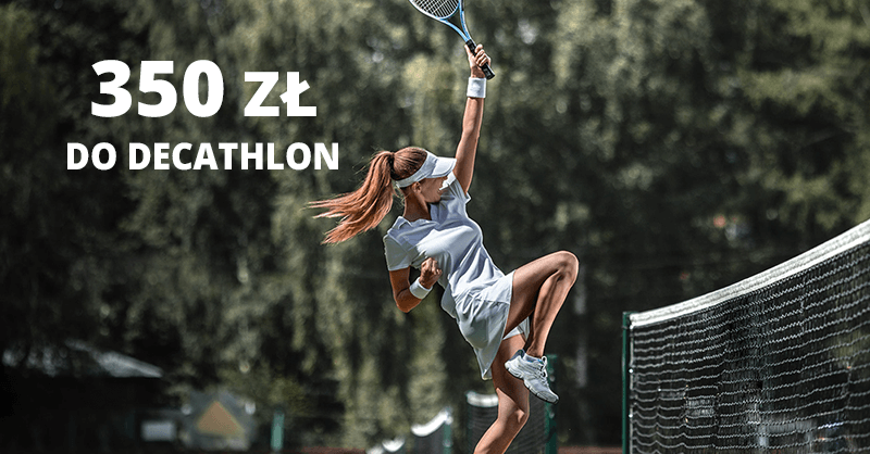 350 zł do Decathlon od BNP Paribas