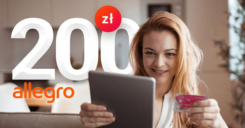 200 zł za kartękredytową Banku Millennium