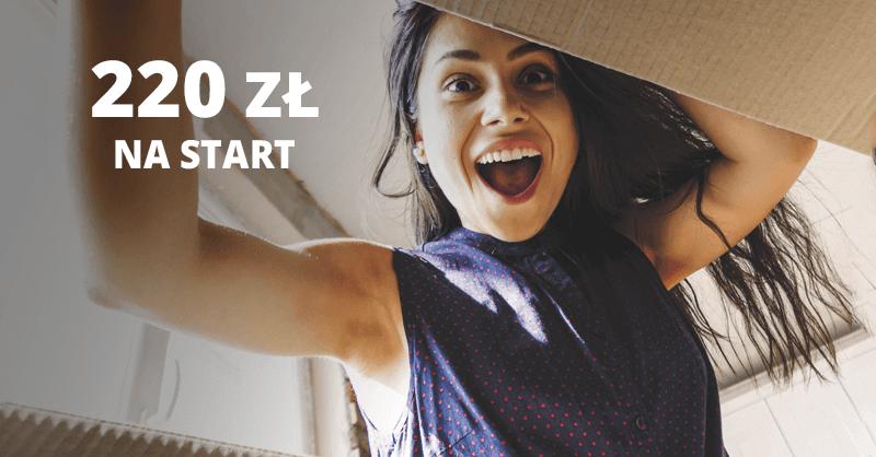 220 zł premii za założenie Konta 360° + rok Allegro Smart gratis