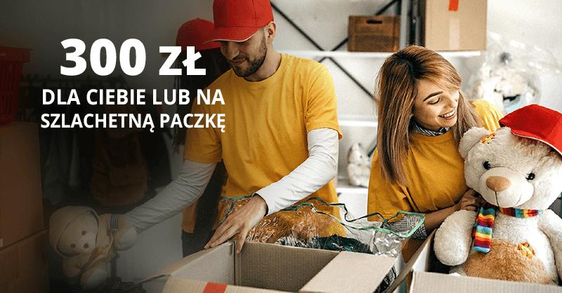 300 zł darowizny od BNP Paribas