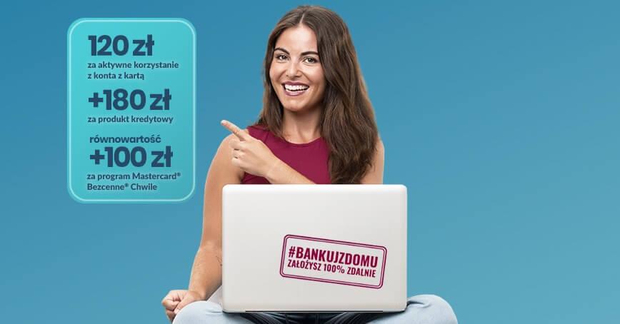 Alior Bank: 400 zł premii na start