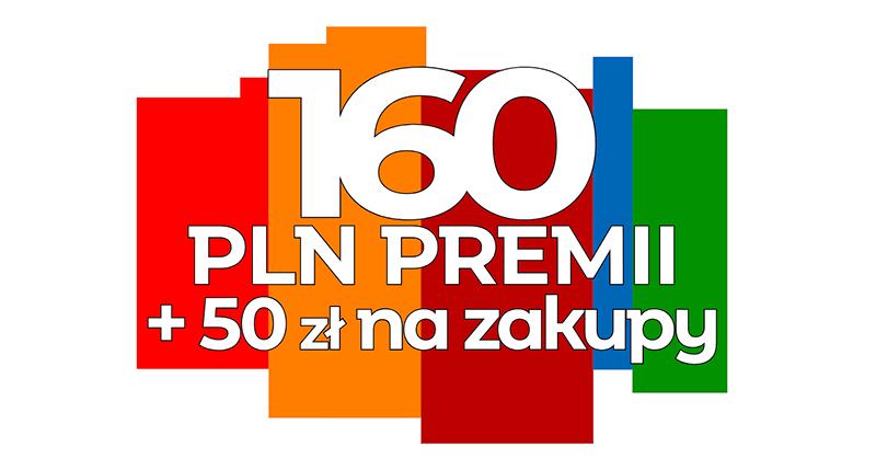 160 zł za założenie eKonta + 50 zł na AliExpress + 2% na koncie oszczędnościowym od mBanku