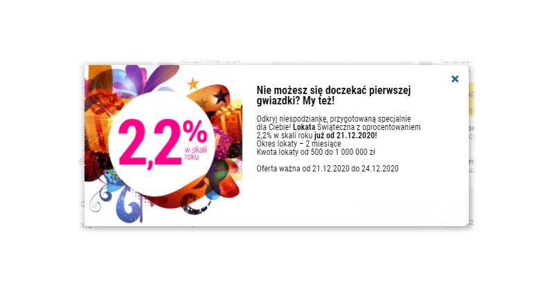 2,2% na Lokacie Świątecznej w Idea Banku