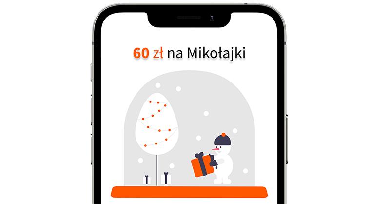 Na mikołajki: 60 zł dla nowych klientów Moje Usługi