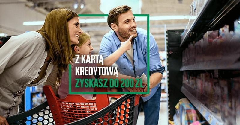 200 zł premii za kartę kredytową BNP Paribas