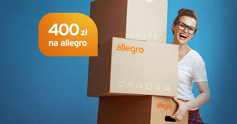400 zł w bonie Allegro za wyrobienie karty kredytowej Citibanku + 100 zł w punktach Bezcenne Chwile!