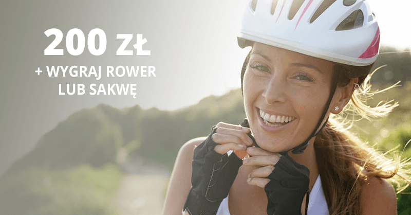 200 zł za założenie darmowego konta osobistego od BNP Paribas + spora szansa na wygranie roweru lub sakwy rowerowej
