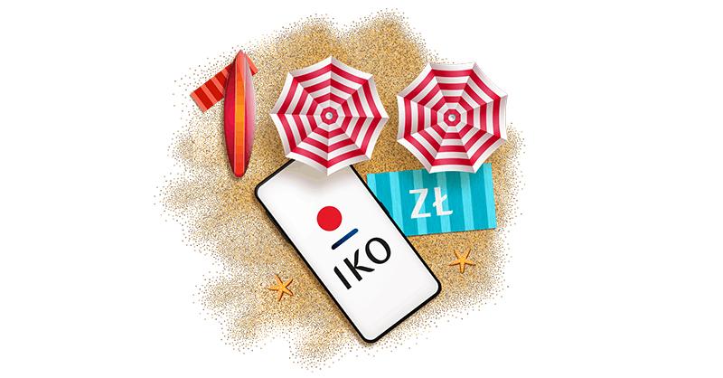 100 zł od PKO BP w promocji Wakacje z IKO